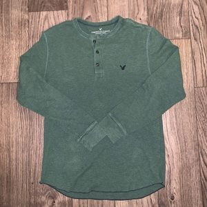Men's American Eagle Thermal Henley